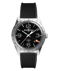 Bell & Ross Vintage Men's Watch Model BR123-GMT-24H