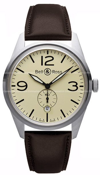 Bell & Ross Vintage Men's Watch Model BR123-OBEI