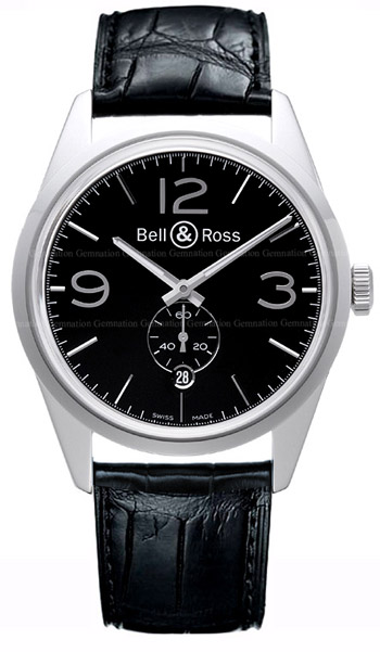 Bell & Ross Vintage Men's Watch Model BR123-OFB