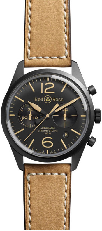 Bell & Ross Vintage Men's Watch Model BR126-HERITAGE