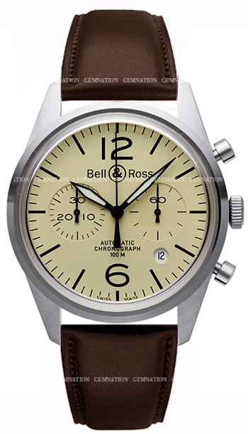 Bell & Ross Vintage Men's Watch Model BR126-OBEI