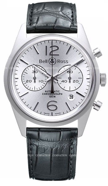Bell & Ross Vintage Men's Watch Model BR126-OFS
