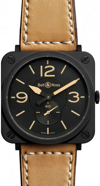 Bell & Ross Aviation Unisex Watch Model BRS-HERITAGE