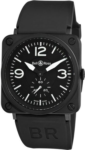 Bell & Ross Aviation BRS Unisex Watch Model BRS-MATTE