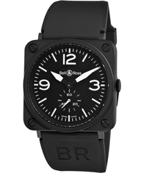 Bell & Ross Aviation BRS   Model: BRS-MATTE