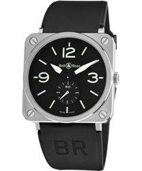 Bell & Ross Aviation BRS Unisex Watch Model BRS-STEEL