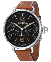 Bell & Ross Vintage Mens Wristwatch Model: BRWW1-CHRNOHERT