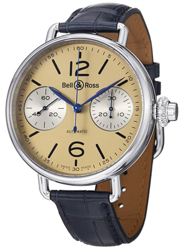 Bell & Ross Vintage Men's Watch Model BRWW1-CHRNOIVOR