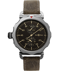 Bell & Ross Vintage Bomber Regulateur Mens Wristwatch