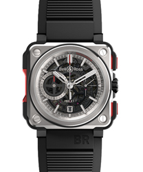 Bell & Ross Aviation Men's Watch Model BRX1-CE-TI-RED