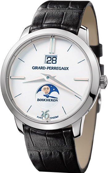 Boucheron Limited Edition Girard Perregaux Hommage a Boucheron Men's Watch Model WJDKF0564