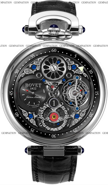 Bovet Tourbillon Jumping Hours Men's Watch Model 39-CP0604