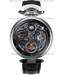 Bovet Tourbillon Jumping Hours Mens Wristwatch
