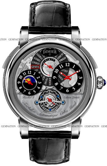 Bovet Dimier Recital 3 Men's Watch Model Dimier-Recital-3