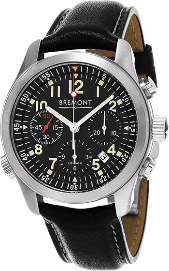 Bremont Pilot Men's Watch Model ALT1-P-BK