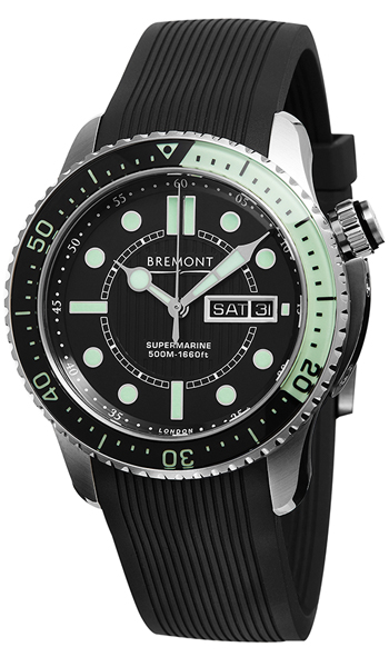 Bremont Super Marine null Watch Model S500-BK-GN
