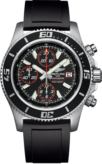 Breitling Superocean Chronograph  Men's Watch Model A1334102-BA81-RS