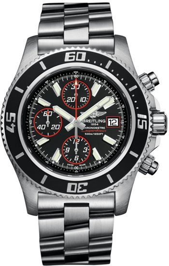 Breitling Superocean Chronograph  Men's Watch Model A1334102-BA81-SS