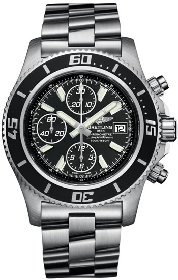 Breitling Superocean Chronograph  Men's Watch Model A1334102-BA84-SS