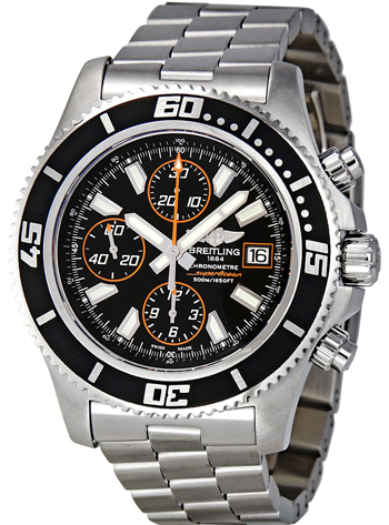 Breitling Superocean Chronograph  Men's Watch Model A1334102-BA85-SS
