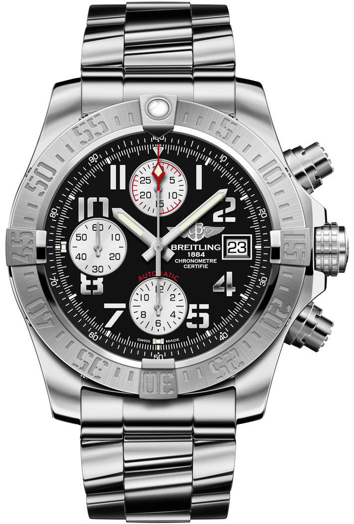 Breitling avenger ii men 39 s watch model a1338111 bc33 170a for Avenger watches