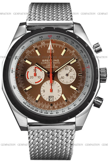 Breitling ChronoMatic Men's Watch Model A1436002.Q556-SS