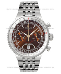 Breitling Montbrillant Men's Watch Model: A2334021.Q548-SS