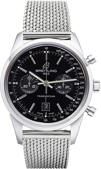 Breitling Transocean  Men's Watch Model A4131012-BC06