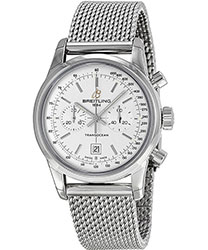 Breitling Transocean  Men's Watch Model: A4131012-G757SS