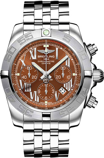 Breitling Chronomat B01 Men's Watch Model AB011011-Q566