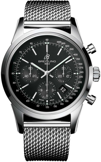 Breitling Transocean  Men's Watch Model AB015212-BA99-SS