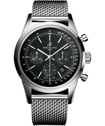Breitling Transocean  Men's Watch Model: AB015212-BA99-SS