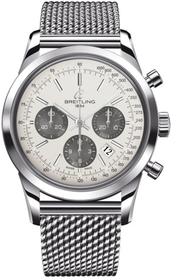Breitling Transocean  Men's Watch Model AB015212.G724.SS
