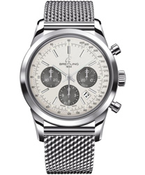 Breitling Transocean  Men's Watch Model: AB015212.G724.SS