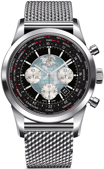 Breitling Transocean Men's Watch Model AB0510U4-BB62-SS
