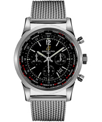 Breitling Transocean Men's Watch Model AB0510U6-BC26-SS
