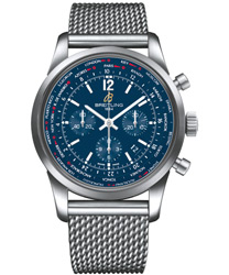 Breitling Transocean Men's Watch Model: AB0510U9-C879-SS