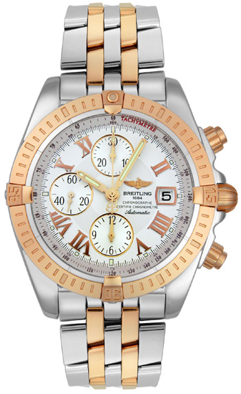 Breitling Chronomat Evolution Mens Wristwatch Model: C1335611.A619-357C
