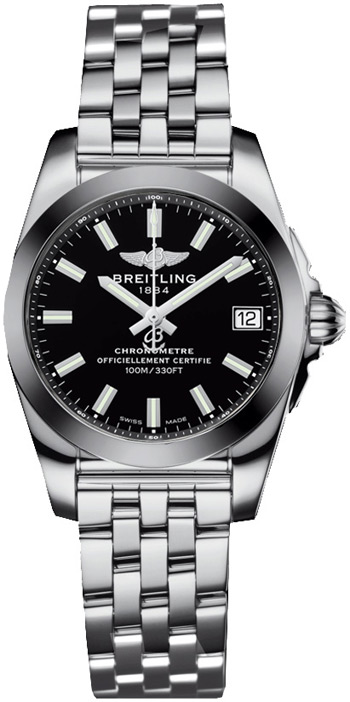 Breitling Galactic Ladies Watch Model W7433012-BE08-376A