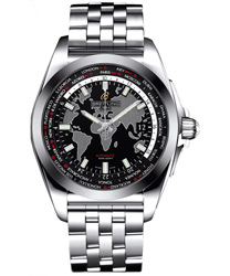 Breitling Galactic Men's Watch Model: WB3510U4-BD94-SS
