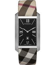 Burberry Check Engraved Unisex Wristwatch