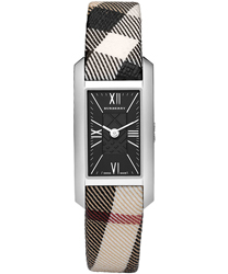 Burberry Check Engraved Ladies Wristwatch Model: BU1060