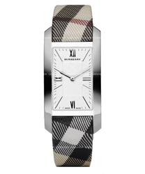 Burberry Check Engraved Ladies Watch Model BU1076