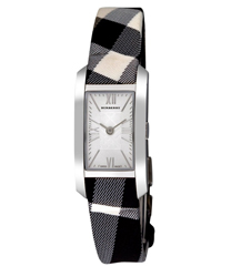 Burberry Check Engraved Ladies Wristwatch Model: BU1078