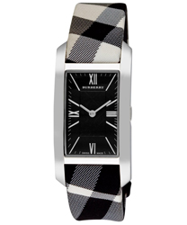 Burberry Check Engraved Ladies Wristwatch Model: BU1079