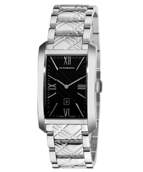 Burberry Check Engraved Men's Watch Model BU1097