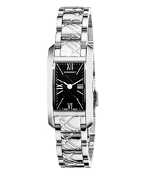 Burberry Check Engraved Ladies Wristwatch Model: BU1099