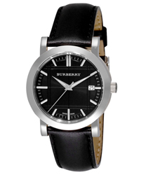 Burberry Round 3-Hand Date Mens Wristwatch