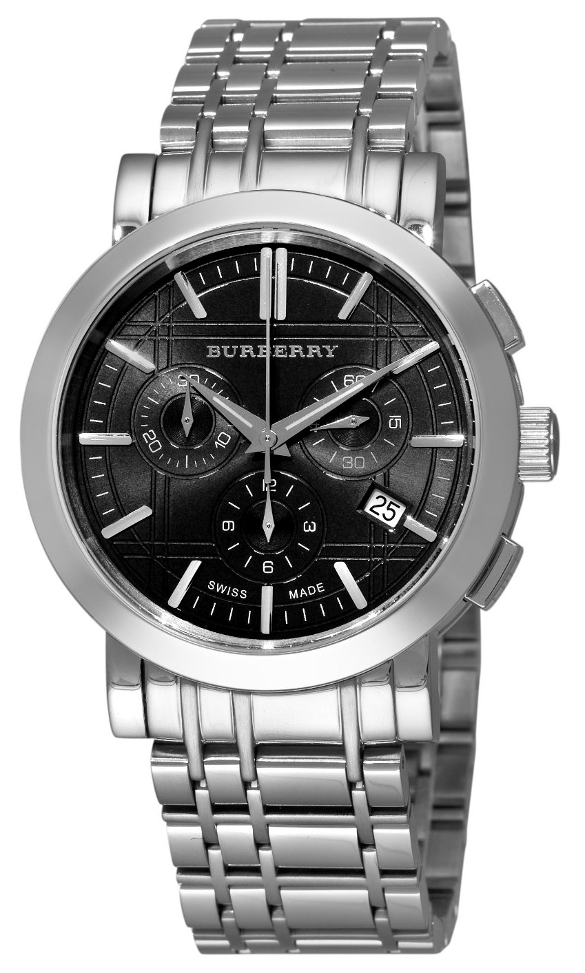 burberry heritage chronograph men s watch model bu1360 burberry heritage chronograph men s watch