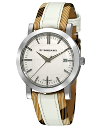 Burberry Round 3-Hand Date Unisex Wristwatch Model: BU1379